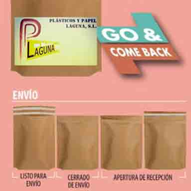 Bolsa go and come-back
